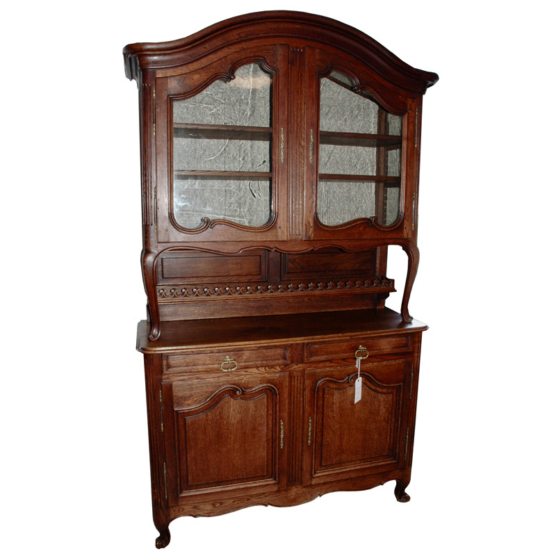 Oak hutch for sale in Plainfield, NJ